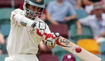 aussies take foot off the pedal against windies...