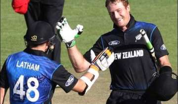 centuries by guptill and latham help new zealnd...