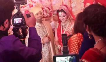 suresh raina ties the knot with childhood friend...