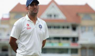 dhoni has struggled as test captain for a while...
