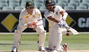 latest updates india 108/1 at stumps trail aus by...