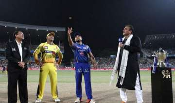 ipl 8 csk opt to field in ipl final against...
