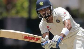 3rd test day 1 india 50/2 against sri lanka rain...