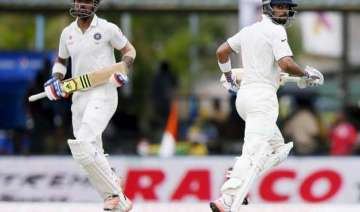 colombo test rahul virat help india post 206/3...