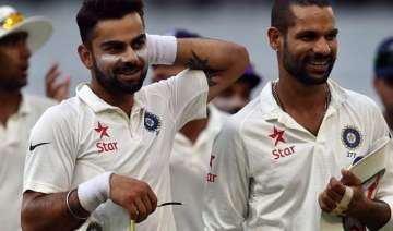 dhawan kohli spat caused unrest in indian...