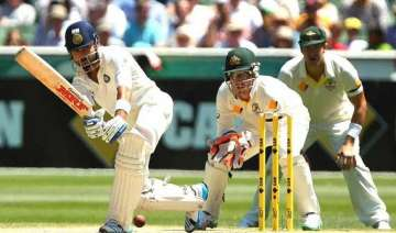 aus vs ind india reaches 224 3 at lunch chasing...