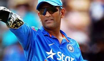 dhoni s fitness a concern as india take on...
