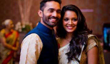 in pics dinesh karthik ties the knot with dipika...
