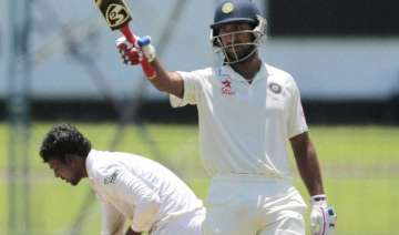 cheteshwar pujara s unbeaten 101 takes india to...