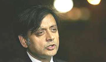 tharoor wants india pak cricket matches in usa -...