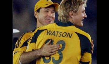 ponting rates series victory in same category as...