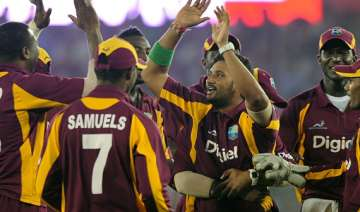 west indies upset india by 16 runs to keep series...