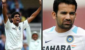 ishant zaheer are fit for first test says vvs...