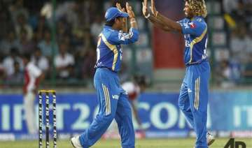 malinga s fiver helps mi rout dd by eight wickets...
