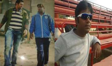 man who taught dhoni the helicopter shot santosh...