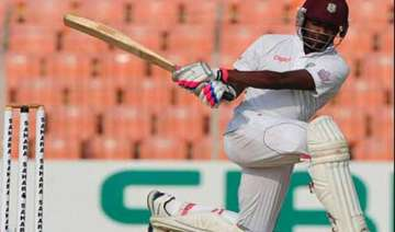 marlon samuels hits 260 to help west indies to...