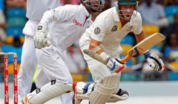 michael hussey stands firm as australia struggle...