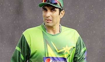 misbah ul haq suspended from galle test - India TV