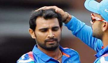 mohammed shami should work on his run up shoaib...
