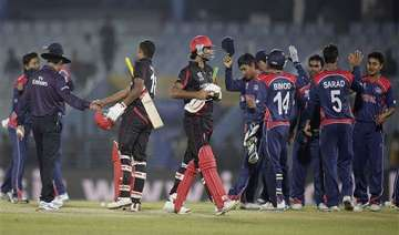 nepal impresses in 80 run win over hong kong. -...