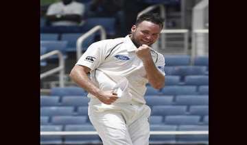 new zealand beat west indies by 186 runs in...