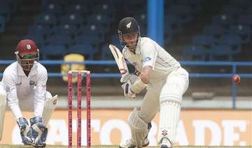 new zealand controls third test against west...