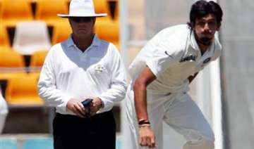 no injury worries for ishant sharma indian team...