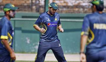 pakistan hopes afridi is fit for asia cup final....