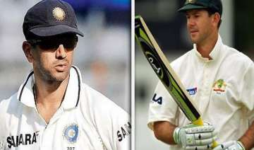 ponting is still a great player dravid - India TV