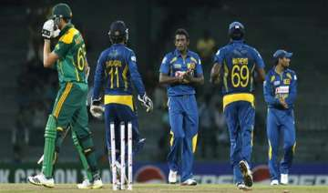 sa sri lanka series sri lanka takes south africa...