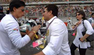 shahrukh to watch sachin s last test on tv as ban...