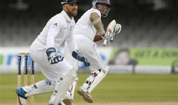 sri lanka 99 1 at lunch on 5th day set 390 to win...