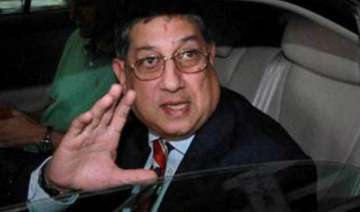srinivasan re elected as tnca president for 8th...