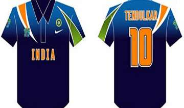 team india gets new jersey - India TV