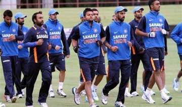 team india s tour of south africa is on - India TV