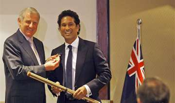 tendulkar presented with order of australia -...