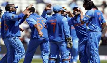 unchanged indian team for west indies tri series...