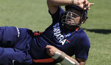 under pressure sehwag nonchalant at nets - India...
