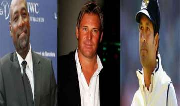 viv richards shane warne invited for sachin s...