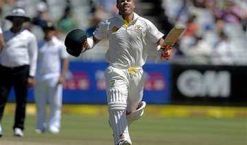 warner moves into fifth harris second in icc test...