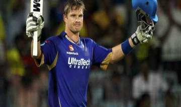 shane watson to lead rajasthan royals in ipl...