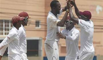 west indies on top after bowling new zealand out...