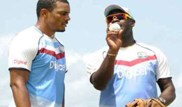 wet outfield restricted west indies from practice...