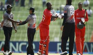 world t20 zimbabwe thrash uae by five wickets -...