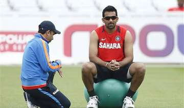 zaheer ruled out gambhir doubtful for second test...