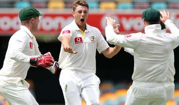 australia beats kiwis by 9 wickets pattinson...