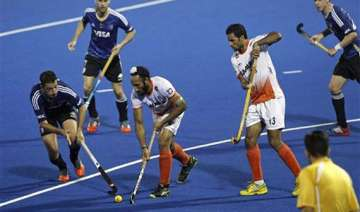 champions trophy india go down 2 4 to argentina -...
