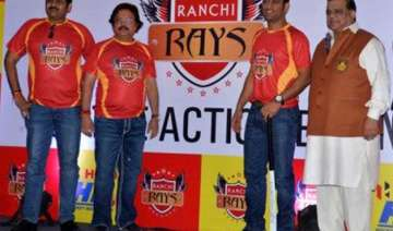 ms dhoni wishes his team ranchi rays ahead of hil...