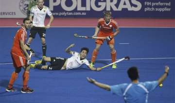 champions trophy netherlands down germany - India...