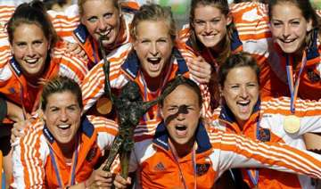 netherlands wins women s champions trophy - India...